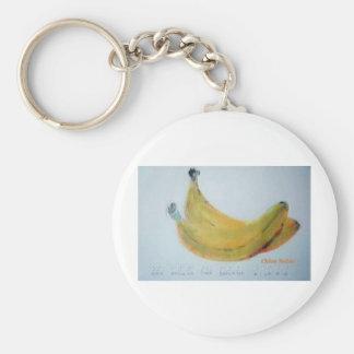 1本のバナナ、2バナナ キーホルダー
