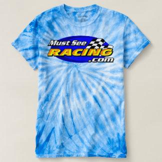 1枚の色の絞り染めのTシャツを競争させることを見なければなりません Tシャツ