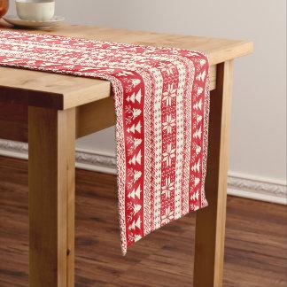 1枚の醜く赤いクリスマスのセーター ロングテーブルランナー