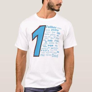 #1父 Tシャツ