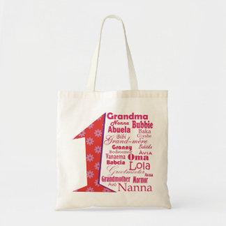 #1祖母 トートバッグ