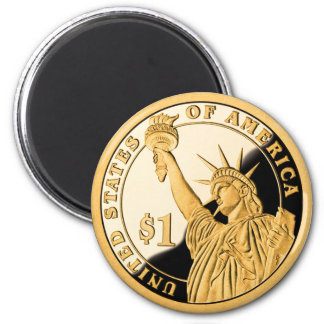 $1金貨の自由の女神 マグネット