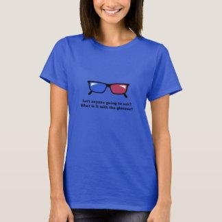 10つの世界終末3Dガラスのティー Tシャツ