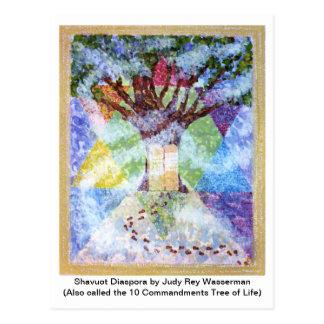 10の命令の木 ポストカード