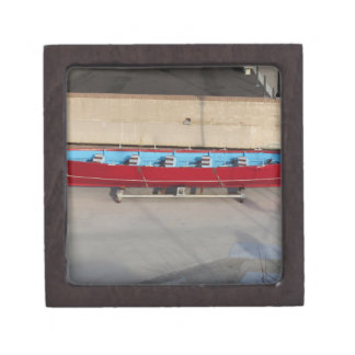 10の座席が付いている木の競争ボート ギフトボックス