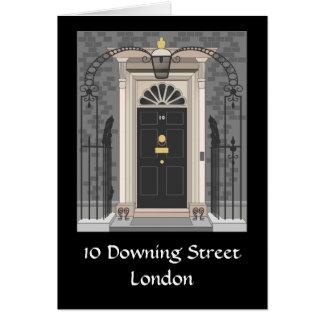 10ダウニング街、ロンドン(スケッチ) カード