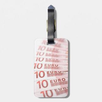 10ユーロ ラゲッジタグ