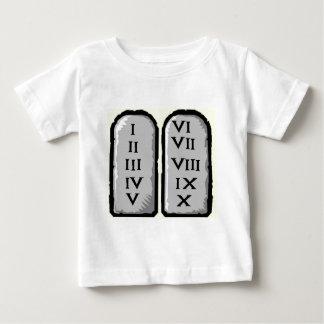 10人の命令の幼児のTシャツ ベビーTシャツ