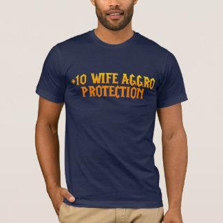 10人の妻の挑発の保護と Tシャツ