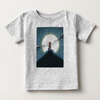 10人の小さいモンスター: ウィリーオオカミの喚き声のTシャツ ベビーTシャツ