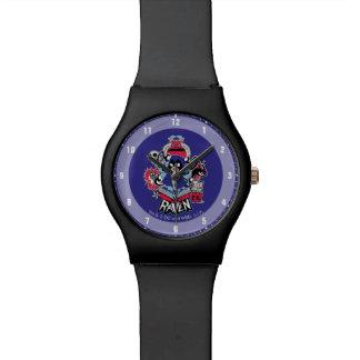 10代のなタイタンは行きます! 写実的な|のワタリガラスの悪魔的な力 腕時計