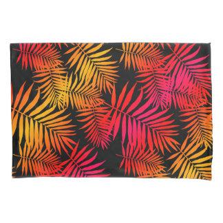 10代のな女の子の女性の装飾の熱帯ヤシの木の葉 枕カバー
