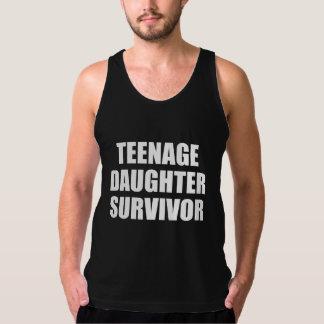 10代の娘の生存者 タンクトップ