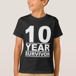 10年の生存者 Tシャツ