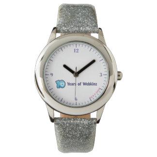 10年間のWebkinzのロゴ 腕時計