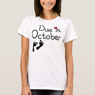 10月に当然 Tシャツ