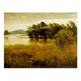10月の冷たい景色 ポストカード