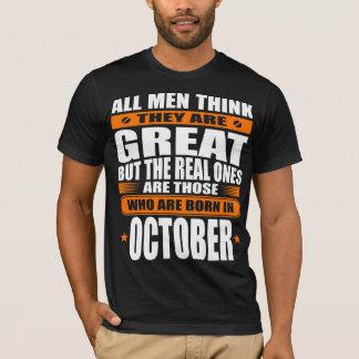 10月の誕生日 Tシャツ