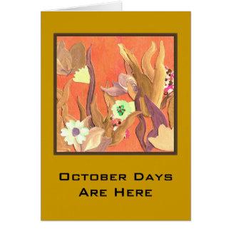 10月10日こんにちは カード