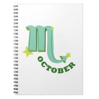 10月 ノートブック