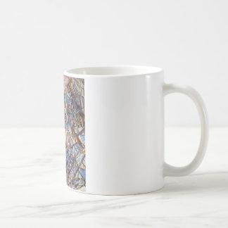 10月。 景色。 Pavel Filonov著方式 コーヒーマグカップ
