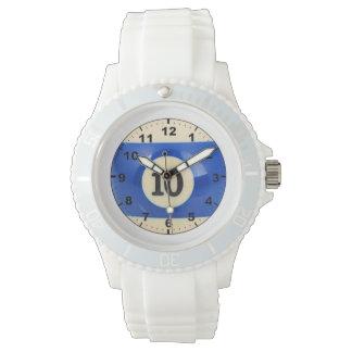 """""""10球""""のデザインの腕時計 腕時計"""