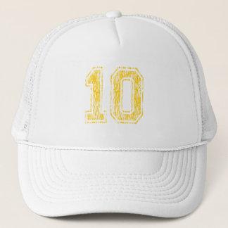 #10黄色い学校代表 キャップ