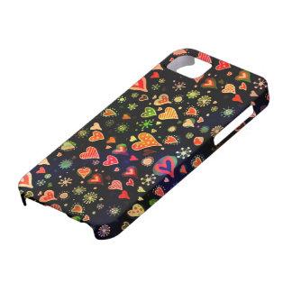 100つのハート iPhone SE/5/5s ケース