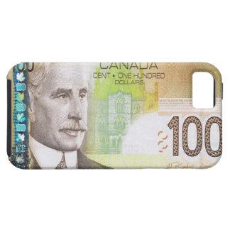 100カナダドルのビルのiPhone 5の場合 iPhone SE/5/5s ケース