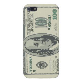 100ドル札のiPhone 5の場合 iPhone 5 Case