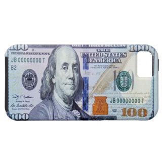 100ドル札のiPhone 5の場合 iPhone SE/5/5s ケース