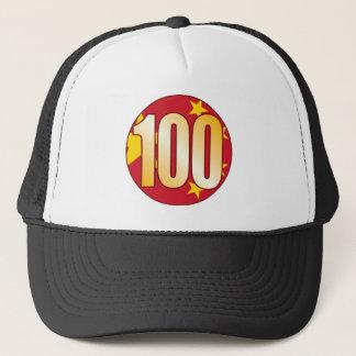 100中国の金ゴールド キャップ
