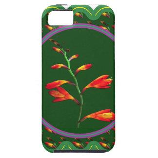 100個のギフトの1つの繊維の花の花の写真のグラフィック iPhone SE/5/5s ケース
