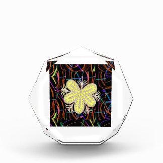 100個の低価格のギフトの抽象的な蝶一見の花 表彰盾