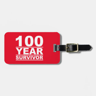 100年の生存者 ラゲッジタグ
