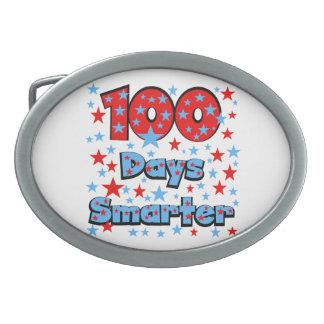 100日より頭が切れる 卵形バックル