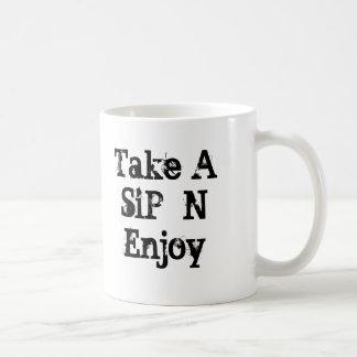 100証拠切り出しは、楽しむな一口Nを取ります コーヒーマグカップ