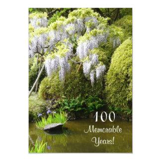 100重大な年か誕生日のお祝い自然 カード
