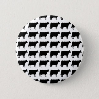 100頭の牛 5.7CM 丸型バッジ