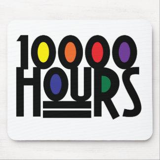 10000時間 マウスパッド