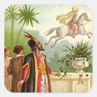 1001アラビアンナイト: 魅了された馬 スクエアシール
