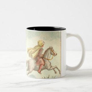 1001アラビアンナイト: 魅了された馬 ツートーンマグカップ