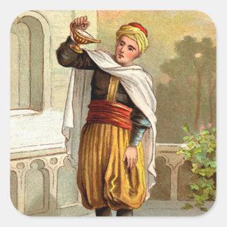 1001アラビアンナイト: Aladdin スクエアシール