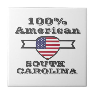100%のアメリカ人、サウスカロライナ タイル