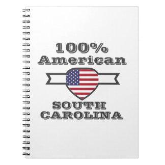 100%のアメリカ人、サウスカロライナ ノートブック