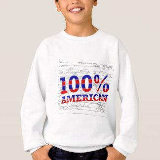 100%のアメリカ人 スウェットシャツ