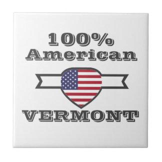 100%のアメリカ人、ヴァーモント タイル