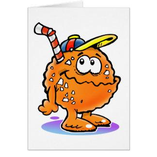 100%のオレンジ…ジュース カード
