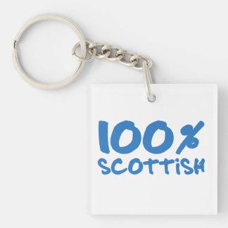 100%のスコットランド人 キーホルダー