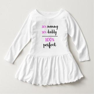 100%の完全なベビー ドレス